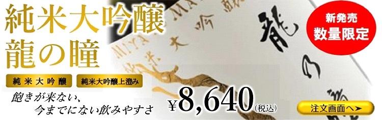 純米大吟醸 【限定品】好評発売中